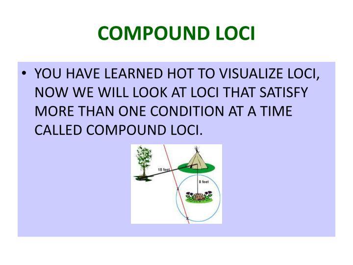 COMPOUND LOCI