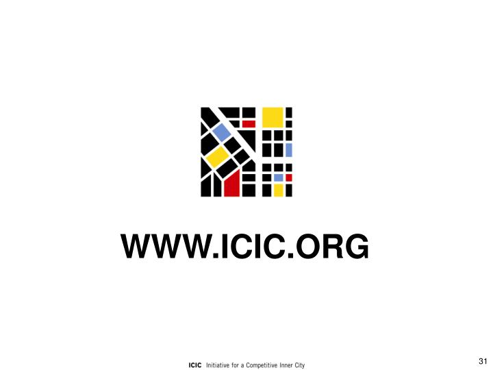 WWW.ICIC.ORG