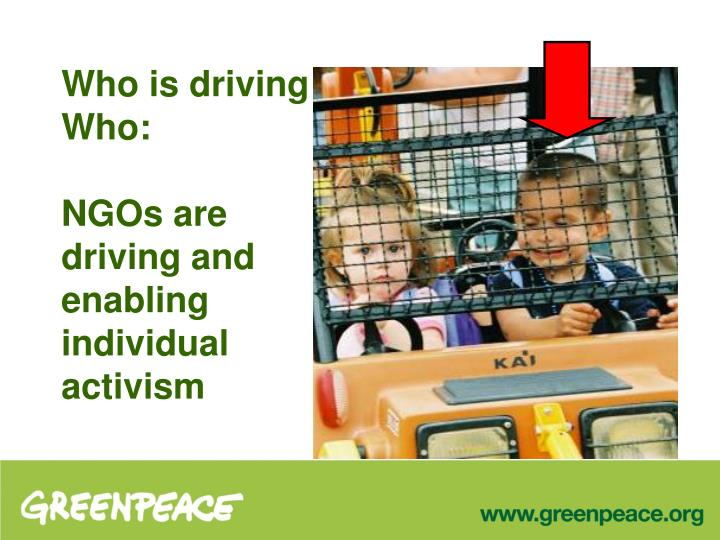Who is driving Who: