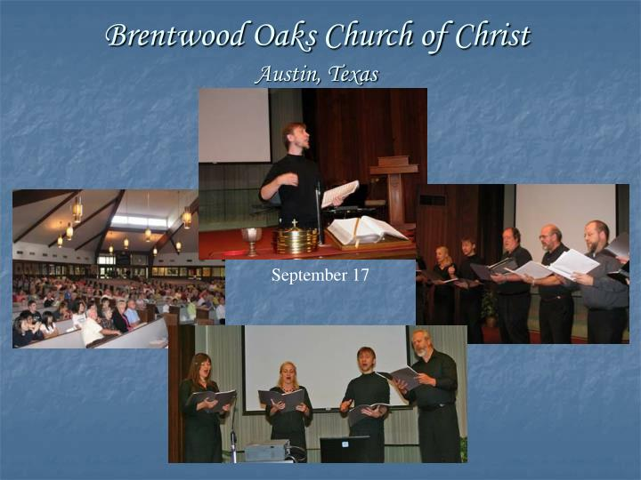 Brentwood Oaks Church of Christ