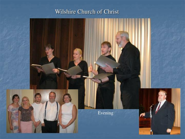 Wilshire Church of Christ