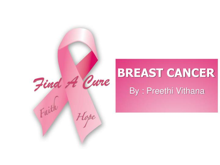 Breast cancer affect others