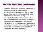 factors affecting conformity2