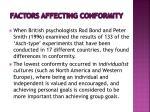 factors affecting conformity4