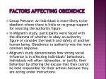 factors affecting obedience3