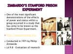 zimbardo s stanford prison experiment