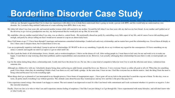 Living With a Borderline Personality Disorder Diagnosis