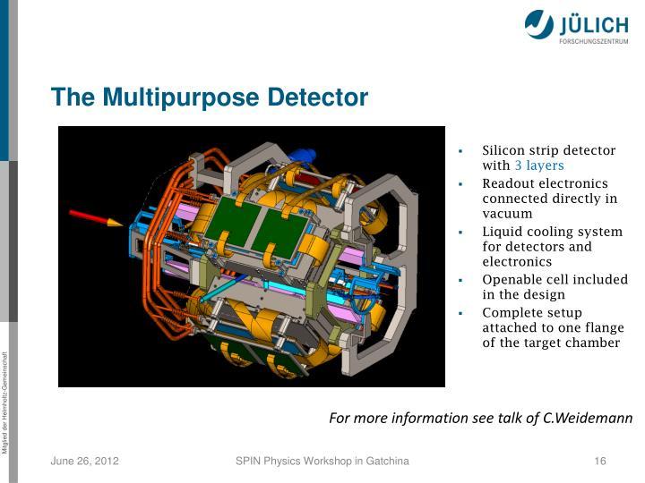 The Multipurpose Detector
