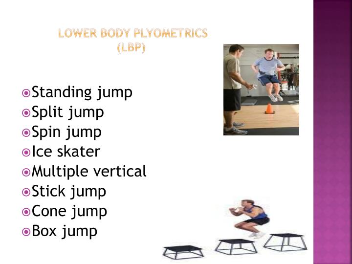 Lower body plyometrics lbp