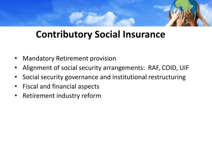 Contributory Social Insurance