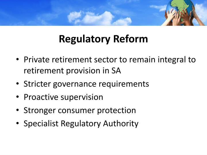 Regulatory Reform
