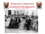 restaurant hotels and hospitality management madeline kern and morgan gomez