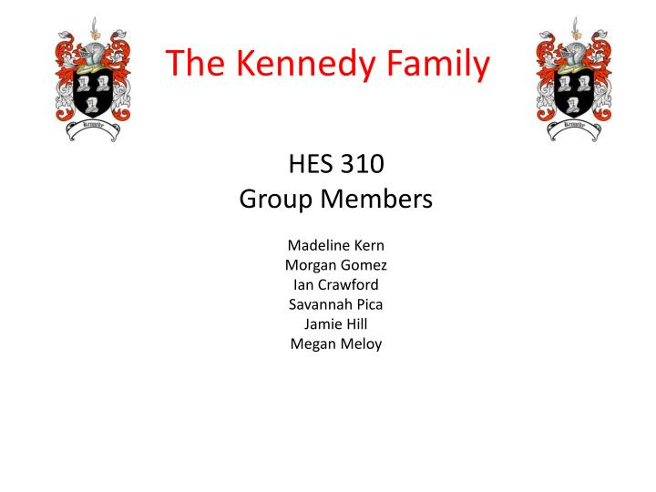 The kennedy family1