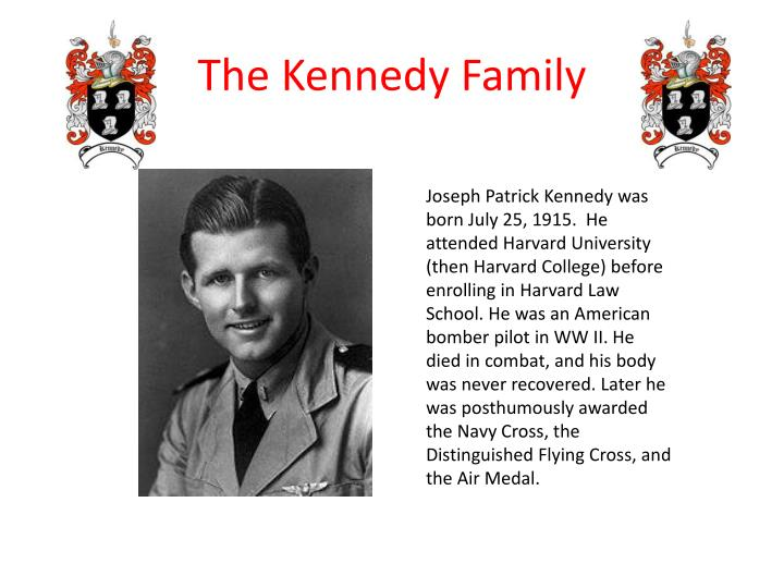 Joseph Patrick Kennedy was born