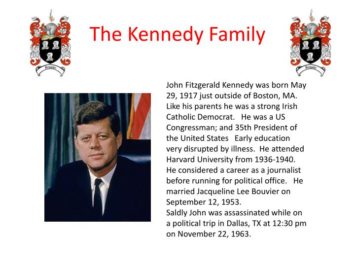 John Fitzgerald Kennedy was born