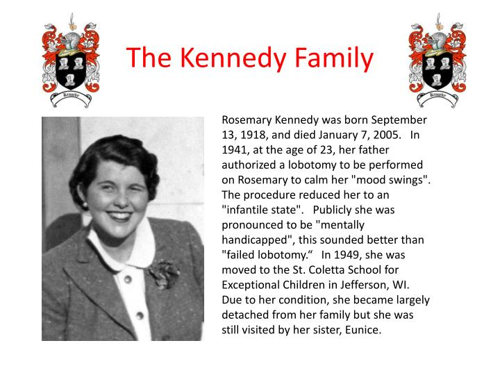 Rosemary Kennedy was born
