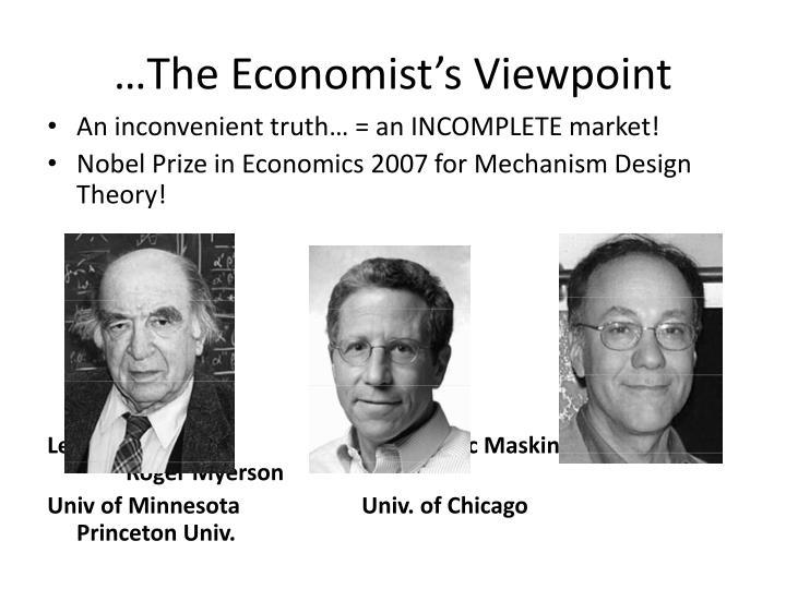 …The Economist's