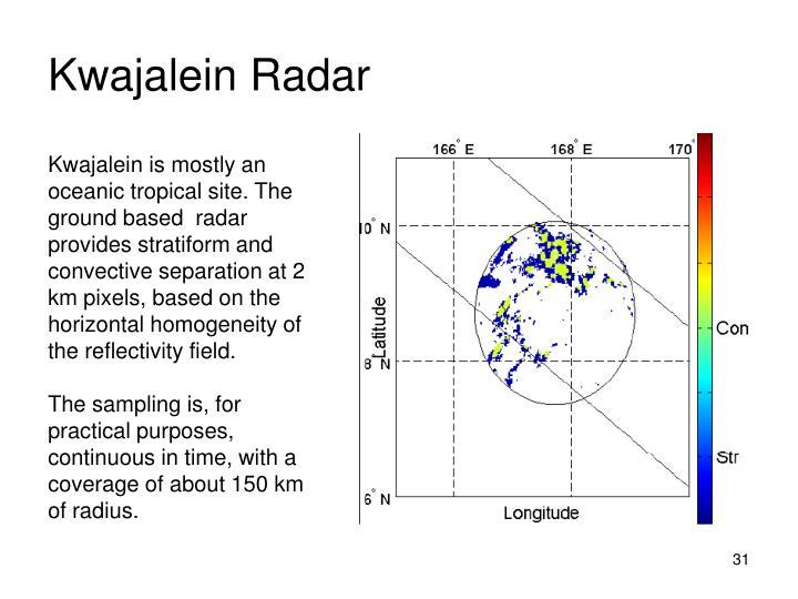 Kwajalein Radar