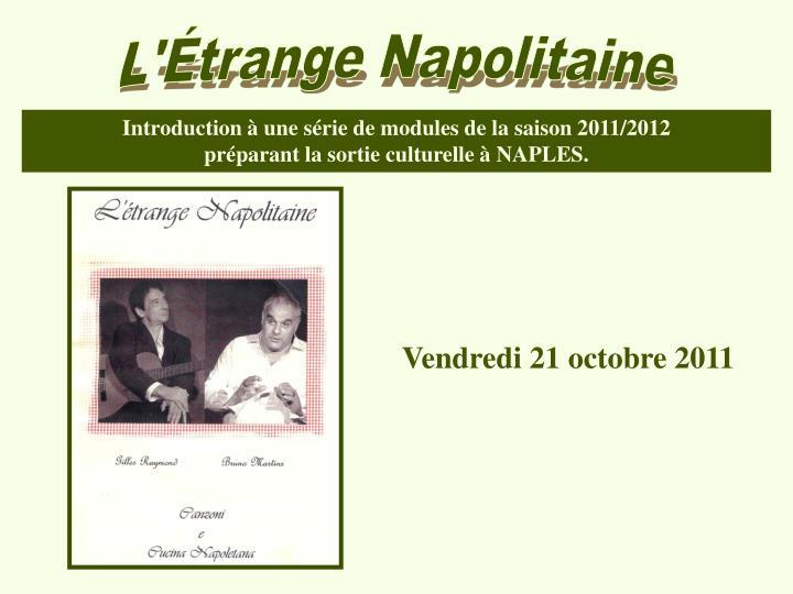 L'Étrange Napolitaine