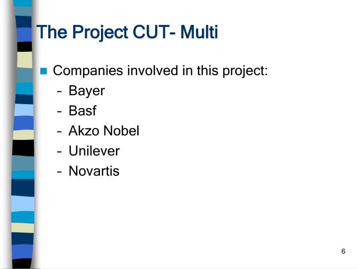 The Project CUT- Multi