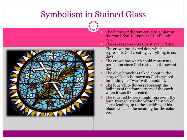 Symbolism in Stained Glass