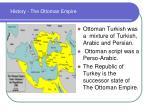 history the ottoman empire