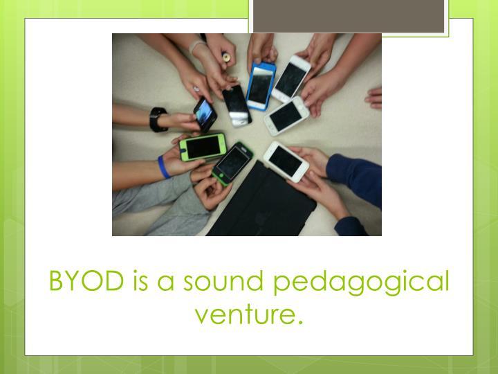 BYOD is a sound