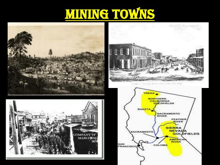 Mining Towns
