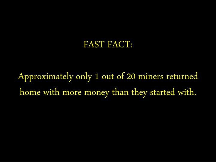 FAST FACT: