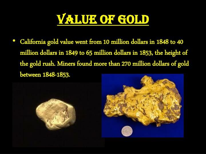 Value of Gold