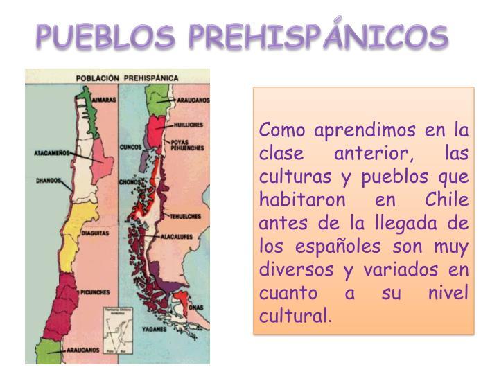 PUEBLOS PREHISPÁNICOS