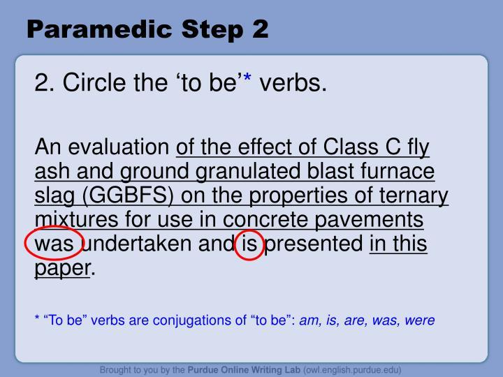 Paramedic Step 2