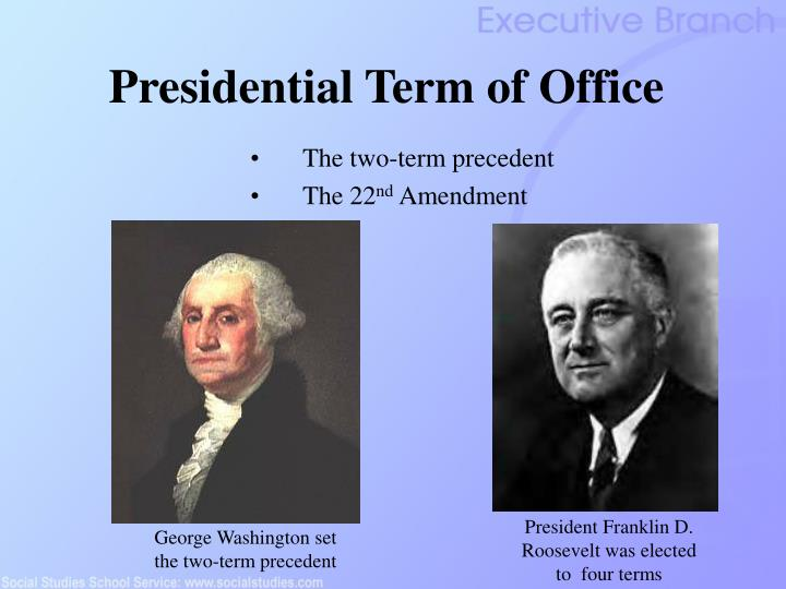 Presidential Term of Office