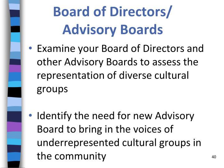 Board of Directors/