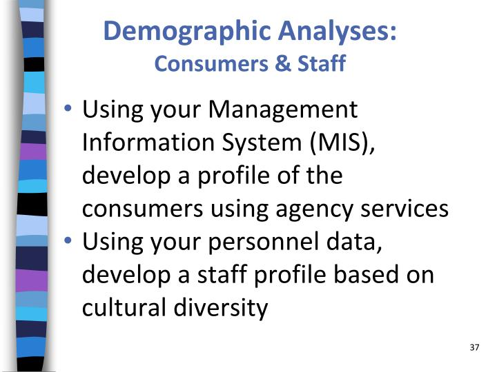 Demographic Analyses: