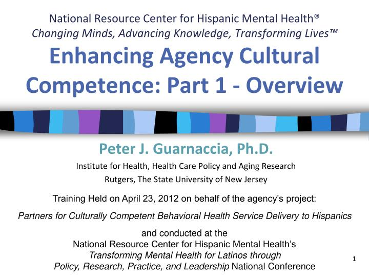 National Resource Center for Hispanic Mental Health®