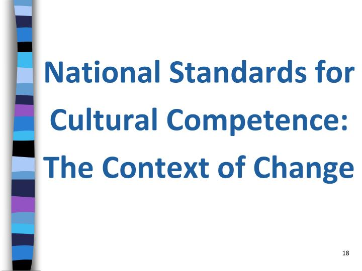 National Standards for