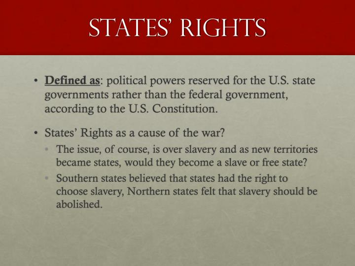 States' Rights