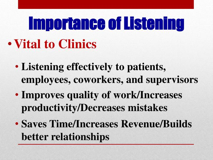 Vital to Clinics