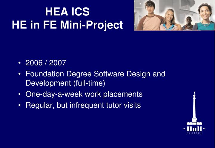 Hea ics he in fe mini project