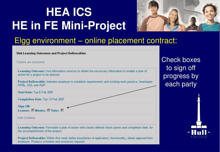 HEA ICS