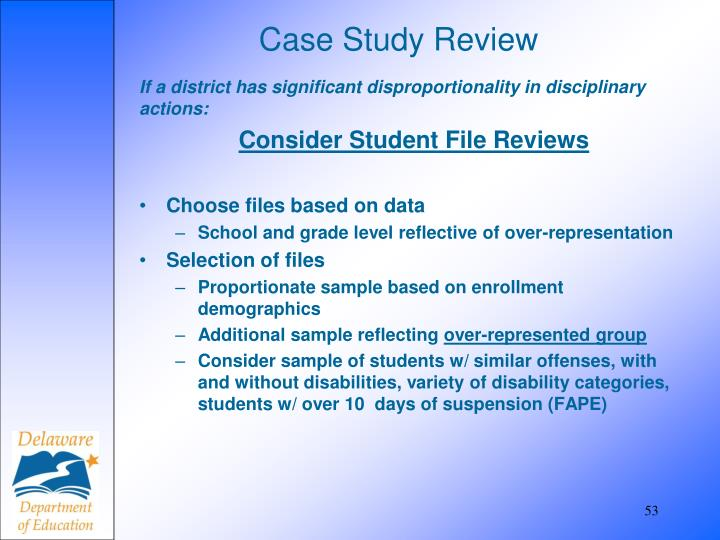 Case Study Review