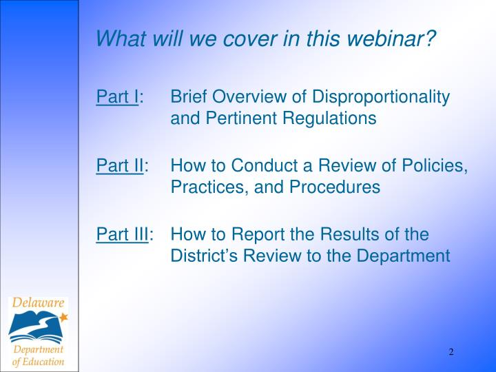 What will we cover in this webinar?