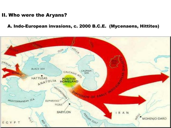 II. Who were the Aryans?