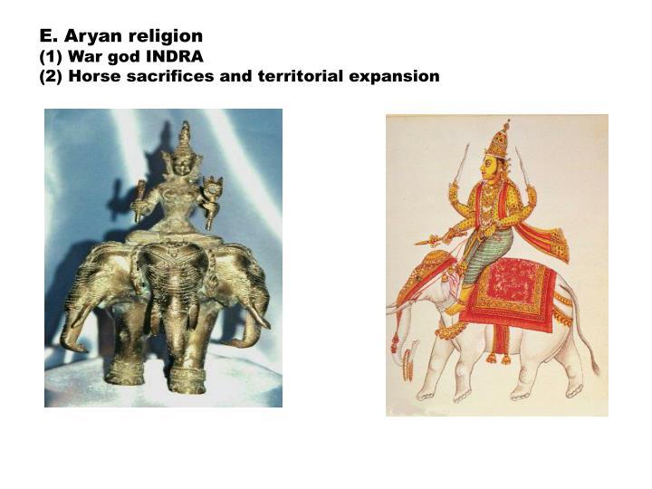 E. Aryan religion