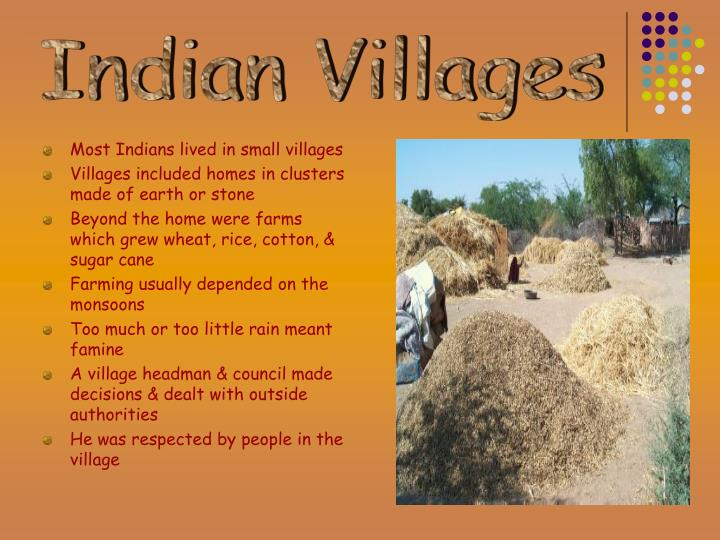 Indian Villages