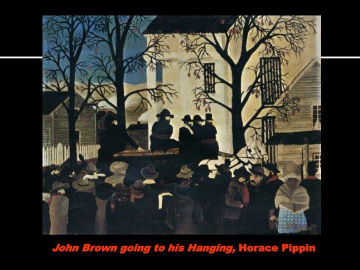 John Brown going to his Hanging,