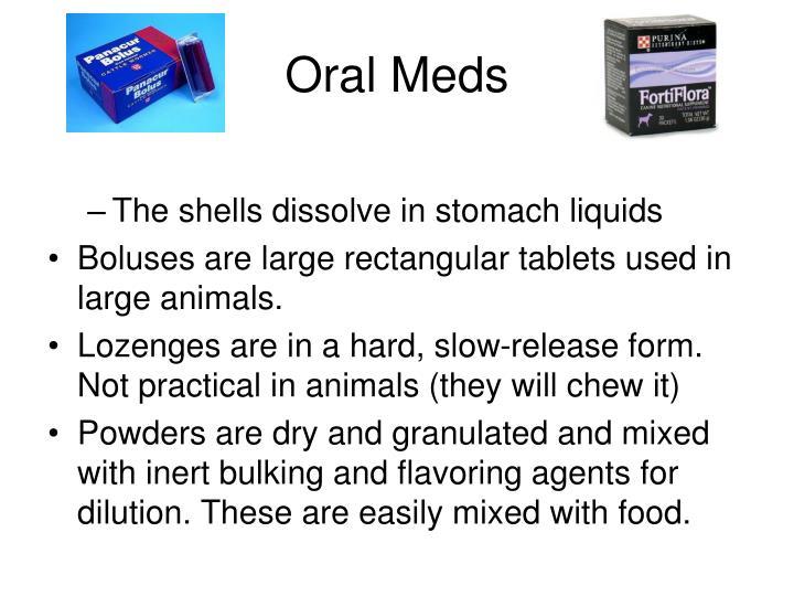 Oral Meds