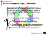 basic concepts of object orientation1