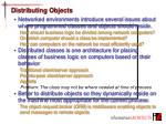 distributing objects